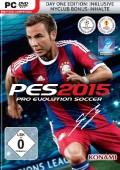Pro Evolution Soccer 2015 Deutsche  Texte, Menüs, Videos, Stimmen / Sprachausgabe Cover